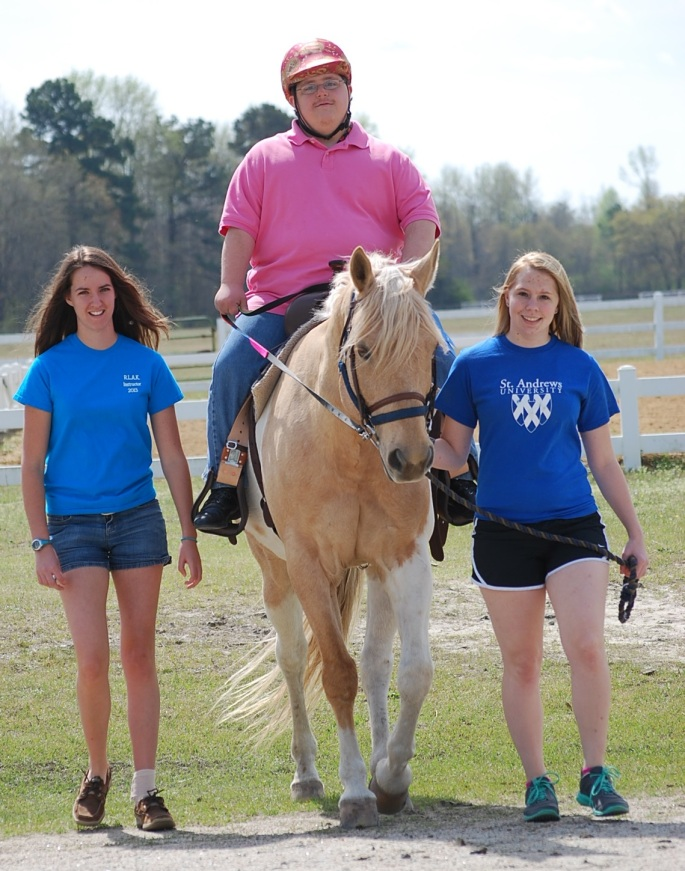 therapeutic horsemanship-Turbeville-best Josh